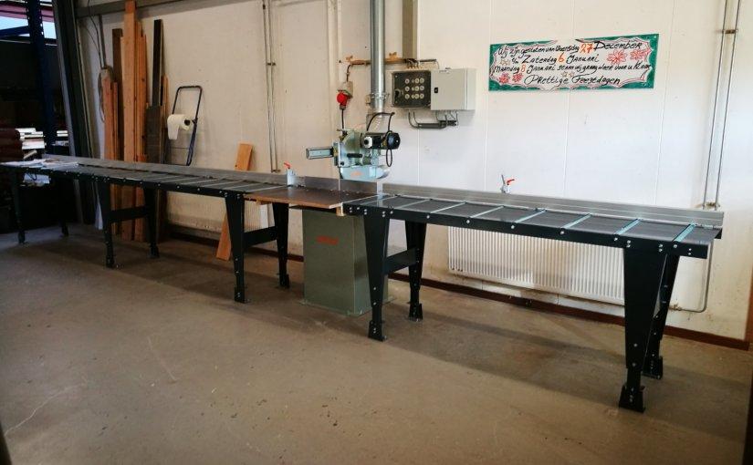 Nieuwe machines voor zaagruimte Houthandel Westerwolde-afbeelding