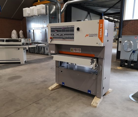 Breedbandschuurmachine Casadei Libra 10 TC95-afbeelding