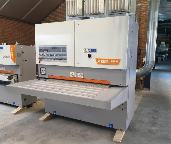 Breedbandschuurmachine Casadei Libra 45 RTC135-afbeelding