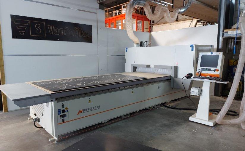 CNC-machine voor Van Spijker Infrabouw B.V.-afbeelding